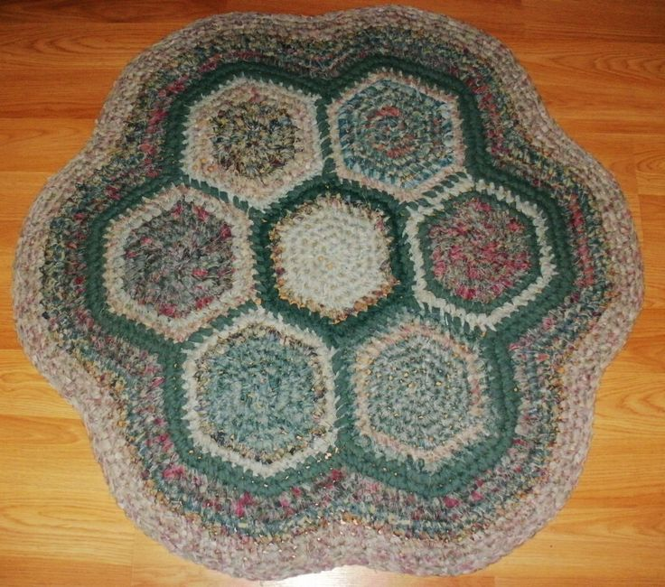 Crochet A Rag Rug Instructions: 78 Best D.I.Y. Rugs Images On Pinterest