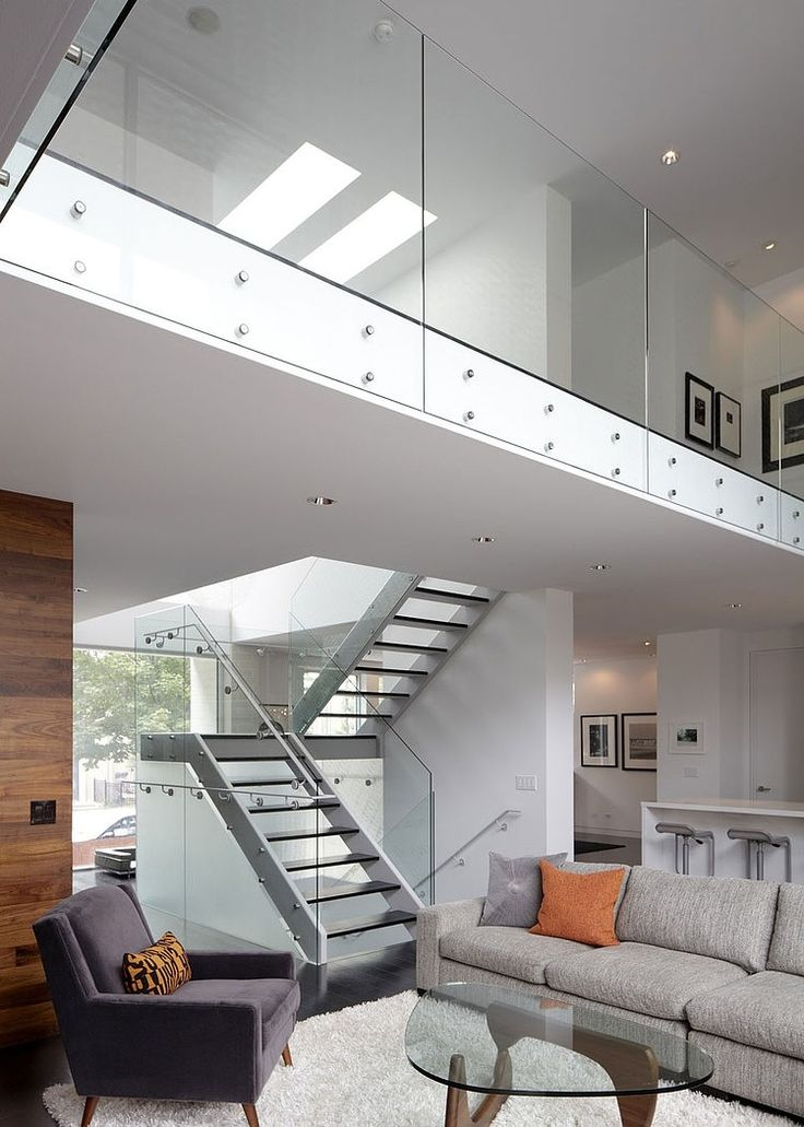 Bucktown Three House by Studio Dwell Architects.  love the staircase