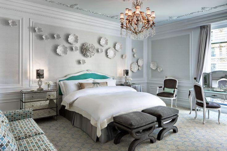Завтрак у Тиффани: спальня в бирюзовых тонах | InMyRoom.ru