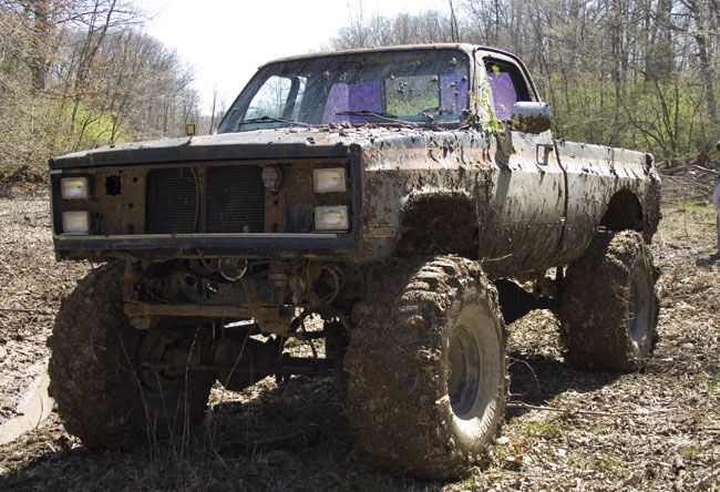A dirty truck is a sexy truck.