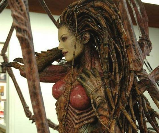 Kerrigan Queen Of Blades Costume - http://tiwib.co/kerrigan-queen-blades-costume/ #Costumes