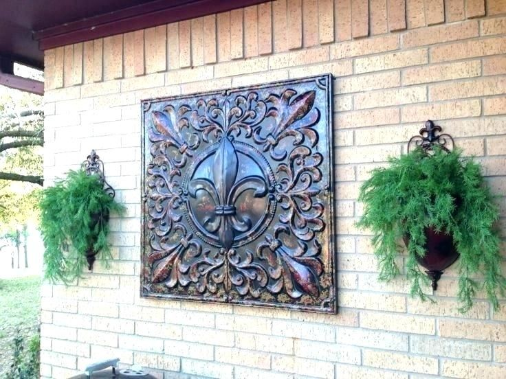 Extra Large Outdoor Metal Wall Art Topdekoration Com Porch Wall Decor Outdoor Wall Decor Large Outdoor Wall Decor