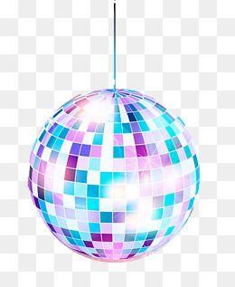 2020 的 Fashion Disco Ball Posters Vector Material ...