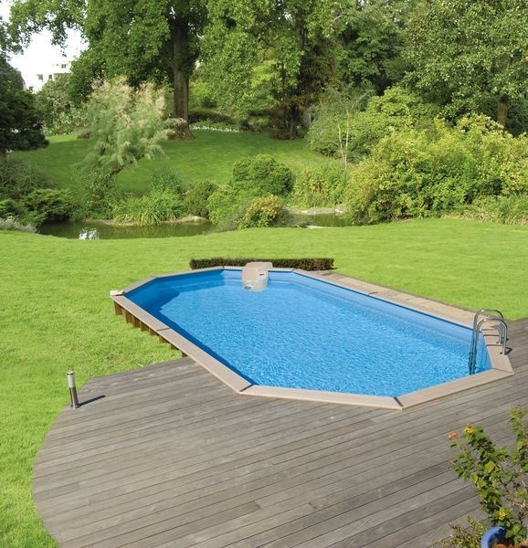 57 best piscine images on Pinterest Decks, Swimming pools and