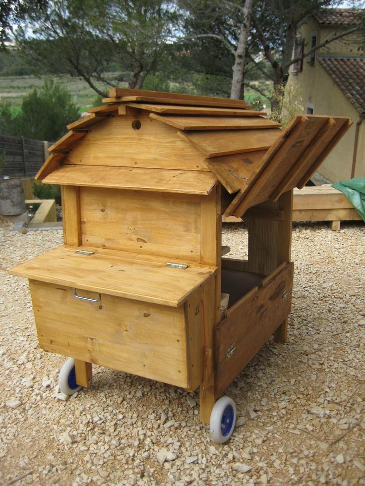 Poulailler roulotte 190 poules pinterest photos et for Poules d ornement pour le jardin ou la basse cour