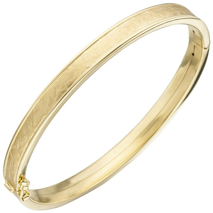 NEU Luxus Damen Armreif Armspange 375 echt Gold 375er Gelbgold 9 Karat Armband  wonderful bracelets real gold