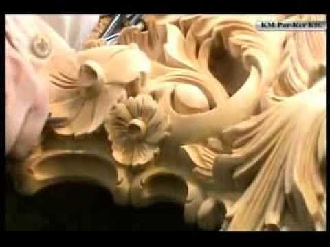 In unseren Film zeigen, wie stellen wir aus Holz handgeschnitzter Spiegelrahmen. Echt handarbeit!