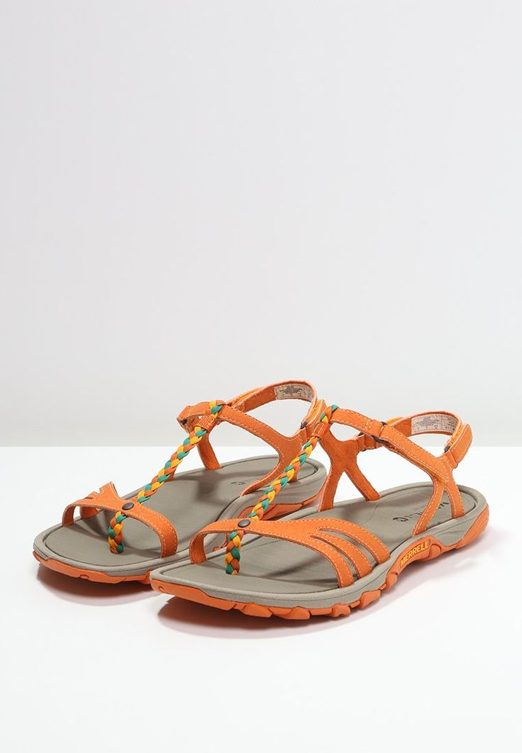 Merrell ENOKI TWIST - Sandali da trekking - orange - Zalando.it