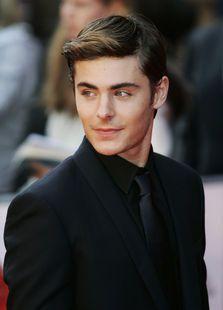 """Zac Efron se lanzó a la fama en la película para televisión """"High School Musical""""."""