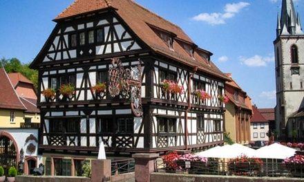 Romantik Hotel Walk'sches Haus à Weingarten : Evasion et gastronomie dans le Sud de l'Allemagne: #WEINGARTEN 199.00€ au lieu de 306.00€…