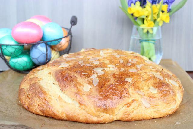 Liška v zástěře : Velikonoční mazanec Traditional Czech Easter sweet