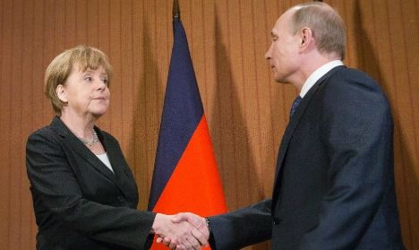 Merkel, Putin agree on international crash probe-  thelocal.de German news in English.  My one and only source of understandable information!