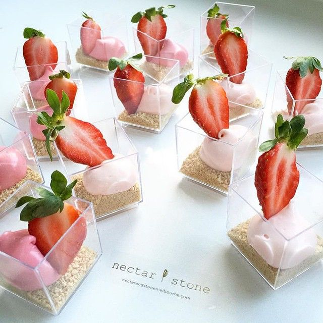 Nectar and Stone  have created these  #strawberry and #beetroot #cheesecake pots #nectarandstone.