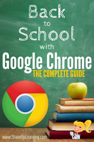 Excellent tips on how to use google chrome at school!  #RePin by AT Social Media Marketing - Pinterest Marketing Specialists ATSocialMedia.co.uk