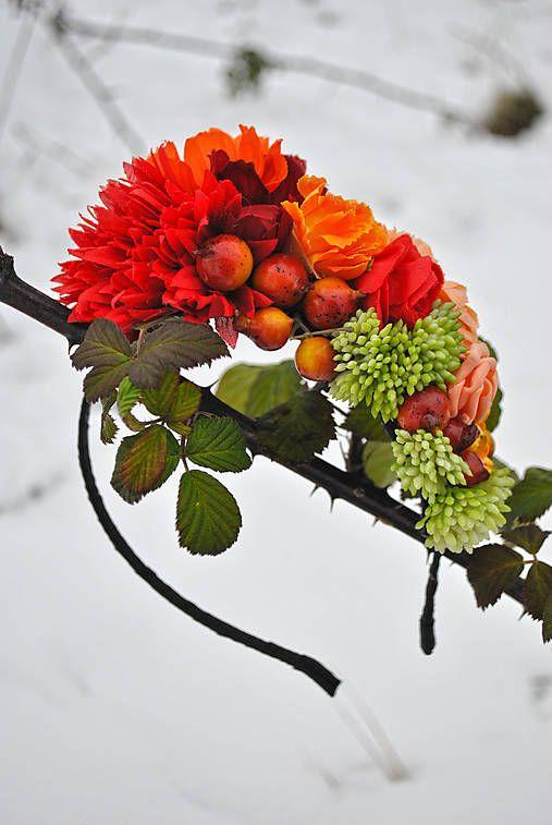 jolie.fleur / Čelenka Queen of Autumn