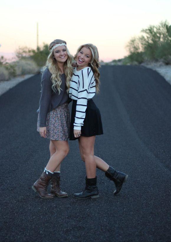 Me and Addie! Bestfriend photoshoot!