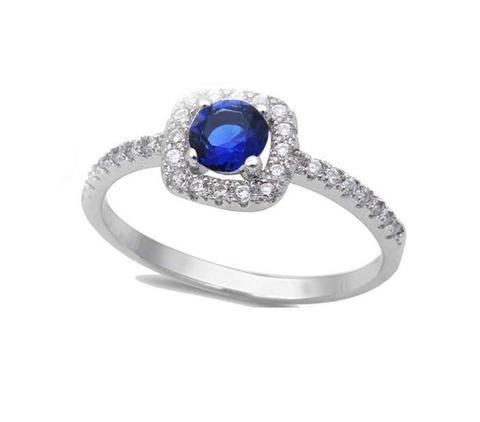 ZAG Bijoux Royal blue stone ring HPZb2Aq