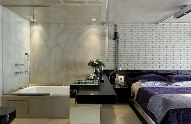 Un loft industrial diseñando para un hombre soltero - FRACTAL estudio + arquitectura