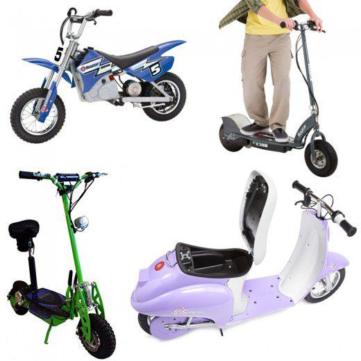 Kid's Electric Scooters