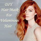Домашние маски для объема волос