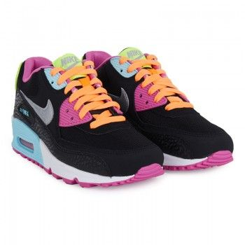 Nike Girls Multi-Colour Youth Air Max 90 2007 | AlexandAlexa
