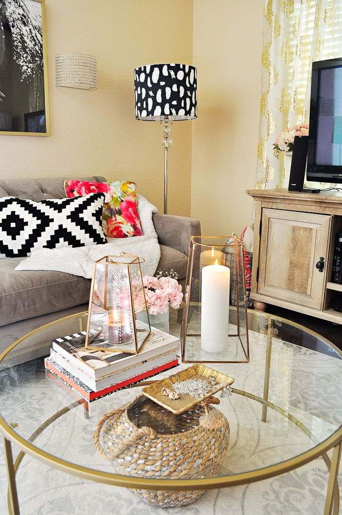 A Small Apartment Living Room Gets A Makeover In A Few Hours For Under 200 With
