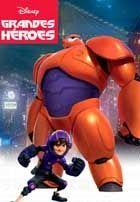 Poster de la pelicula 6 Grandes Heroes (2014)