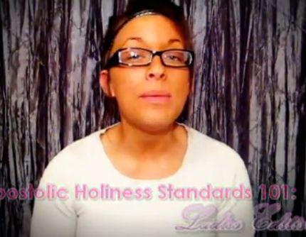 pentecostal no makeup