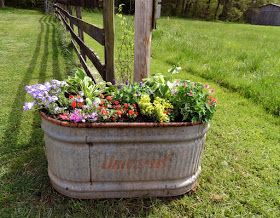 ~~Tea's Hope Chest~~: Recycled, Old Water Trough~