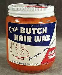 Brylcreem what was it? We used VO-5 hair creme.  We would use a wax stick when we had flat-tops. Pops