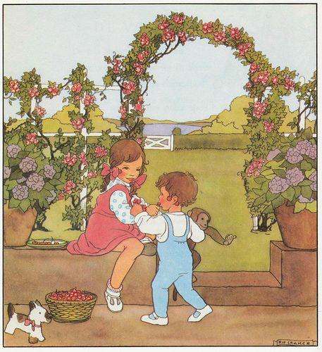Rie Cramer Het jaar rond editie 1978 ill kersen   Flickr - Photo Sharing!