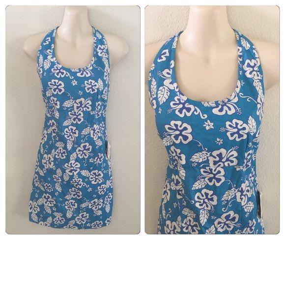 NWT Hawaiian Print Dress Medium Brand new with tags Pacific Isles Dresses