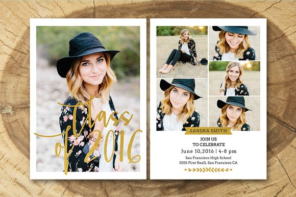 Senior Graduation Announcement 009 @creativework247