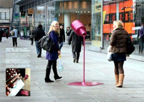 Реклама на улицах города - Партизанский маркетинг (508). Единая Служба Объявлений