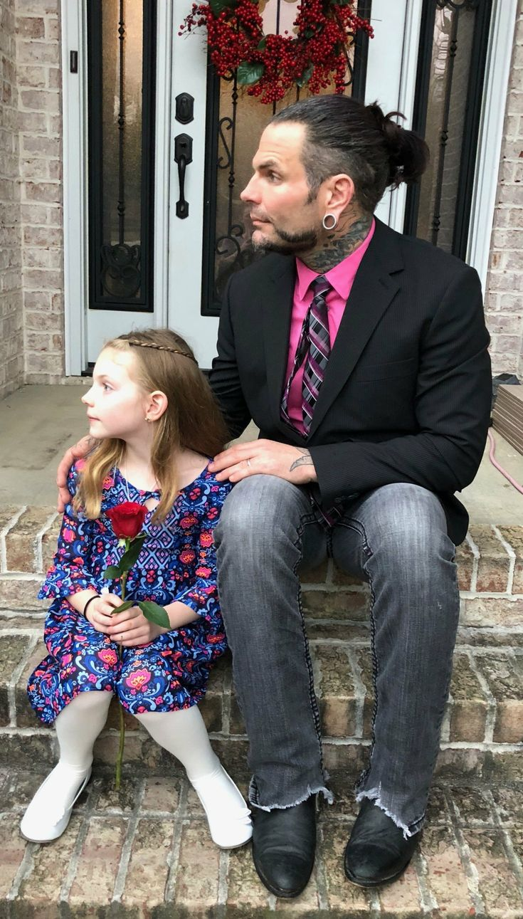 Jeff Hardy & His Daughter