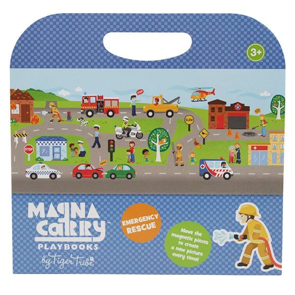 Emergency Rescue Magna Carry Avert disaster, save kittens, fight fires and manage traffic with Tiger Tribe's new Magna Carry – Emergency Rescue. $32.95 AUD Including delivery!