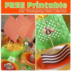 Thanksgiving: Thanksgiving Kids, Kids Thanksgiving, Ships Centerpieces, Amanda Party, Kids Tables, Party'S, Thanksgiving Ships, Free Printables, Thanksgiving Tables