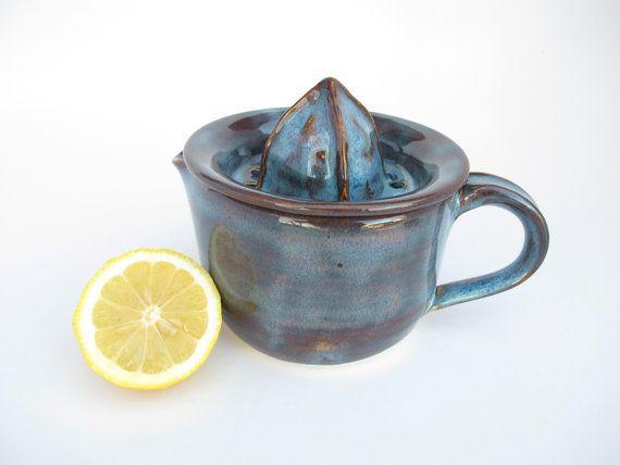 Handmade Ceramic Juicer Citrus Reamer in Rustic by KismetPottery