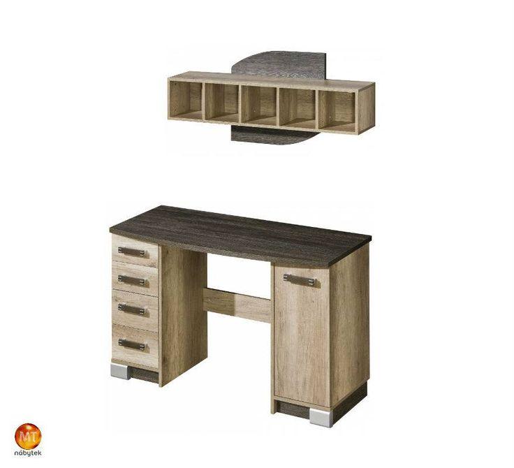 Díky velkému výběru různých druhů nábytku z kolekce Raven si sestavíte jakoukoliv místnost. Třeba malou pracovnu - psací stůl http://goo.gl/tFMn2D; - police http://goo.gl/RZ1aLn