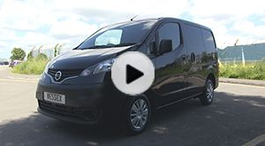 This is the Nissan NV200 the smallest van in the Nissan range but don't be put off by its small size, this van has class leading cargo space at 4.2m³.