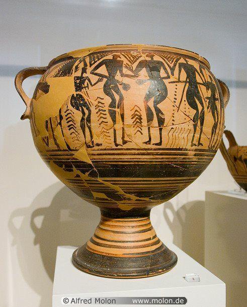 Les 127 meilleures images du tableau greek geometric for Vase antique romain