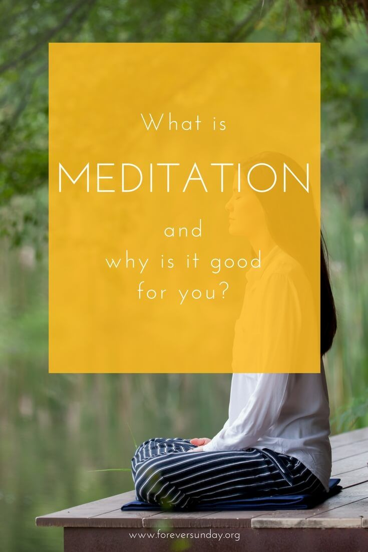 What is meditation? A very loaded question, this. Contrary to popular belief, meditation isn't something