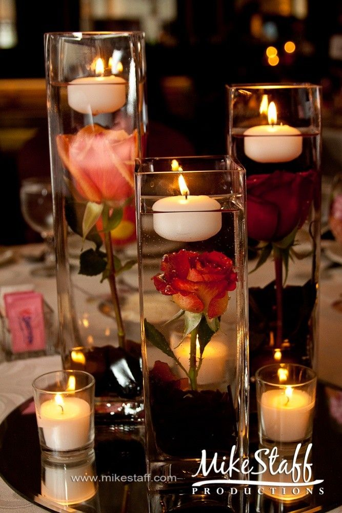 Floating Wedding Candle Centerpiece That We All Want For