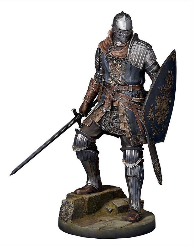 NEW GECCO DARK SOULS Knight of Astora Oscar 1/6 Scale Statue Figure #GECCO
