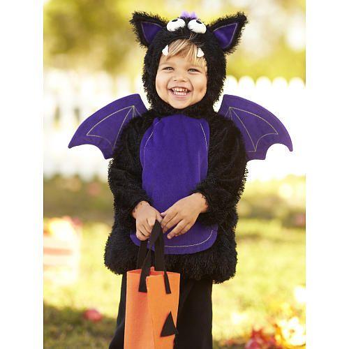 Koala Kids Boys Black Hooded Bat Halloween Costume | BabiesRUs