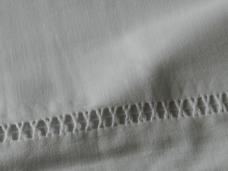 French Vintage Linen-Very Large Bed Sheet-Linen-White - Dry Cleaned - Made in 1895 - Home Decor - Home Living - 1895 Normandy Collection by LaVieEnNoirGallery on Etsy