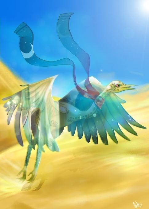 """""""L'Oiseau-Mirage"""" de Axel"""