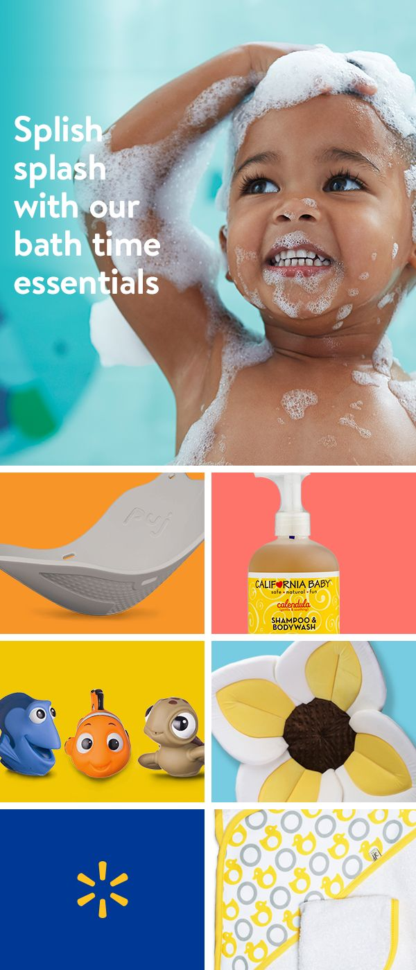 """From travel tubs and towels to organic baby wipes and shampoo"""" save even more on all your baby bath time essentials at Walmart. Discover premium baby brands as well as all your top-quality favorites""""all at our everyday low prices. Shop bath time essentials today."""