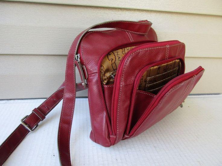 Statement Bag - Red Floral Bag by VIDA VIDA DWOtWtROG