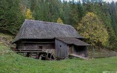 Old water mill in Kvačany valley.